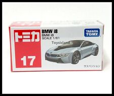 TOMICA #17 BMW i8 1/61 TOMY DIECAST CAR 2016 NOV NEW MODEL