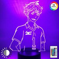 Anime Acrylic Led Night Light for Kids Bedroom Decor Night Light 3d Light