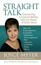Straight Talk a Christian Hardcover book by Joyce Meyer FREE SHIPPING God's Word