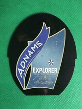 Pump Clip Insert Reversible Adnams Explorer / Manns St George & the Dragon VS67
