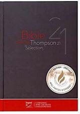 French Thompson Chain Reference Bible, Segond 21, La Sainte Bible HB Black/Red