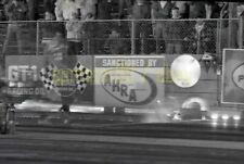 Lions Drag Strip @ Night - NHRA c1960-70s - Vintage Race Negative