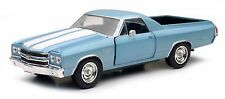 1970 Chevy El Camino SS Wagon Die-cast Car 1:25 New Ray 8 inch Blue