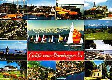 Grüße vom Starnberger See , Ansichtskarte ,1985 gelaufen