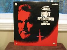Sean Connery The Hunt For Red October Laserdisc