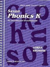 Saxon Phonics 1 Home Study Teacher's Manual, Lorna Simmons