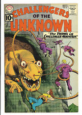 Challengers of the Unknown #22, DC Comics 1961 VFNM-
