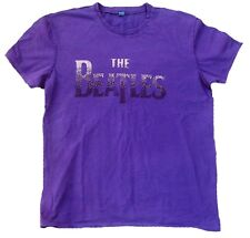 Amplified the Beatles strass rock star violet t-shirt G.M