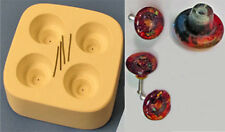 Stained Glass Fusing Mold - Four Round Drawer Pull Knob Mold