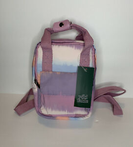 Wild Fable Mini Backpack Rectangle Small Multi Color Pastel Purse Spring Summer