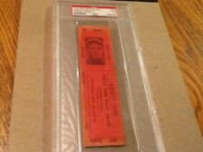 DIZZY AND PAUL DEAN EXHIBITION TICKET 1935 PSA GRADED
