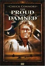 New: PROUD AND DAMNED- DVD (Western, Civil War, Chuck Conners)