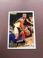 1994-95 Fleer Basketball Superstar: Reggie Miller