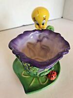 Tweety's Enchanted Garden Tea Cup and Saucer 1999 Warner Bros 4