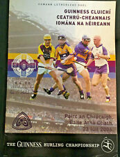 2006 GAA CLARE v WEXFORD & WATERFORD v TIPP All-Ireland Hurling Q-Final Programm