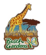 Busch Gardens Pin Limited Edition Ambassadors Pin Giraffe Sparkle Scene Rare