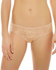 Wacoal Embrace Lace Tanga Brief Knickers Mahogany//Rose  848191 SAVE 50/%