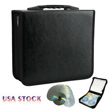 400 Disc CD DVD VCD Organizer Holder Storage Case Bag Wallet Album Media Video