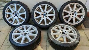 "TTE Chicane Alloy Wheels x 5 18"" With Tyres - Lexus Toyota"