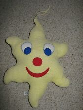 Toddler soft  stuffed star to hang