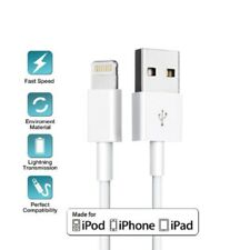 3x USB Sync & Charger Data Lead Charging Cable For Apple iPhone 7 6 S 5 iPad