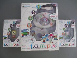 Mattel Girl Tech F.a.m.p.s. E Motions Starter Kit + 2 Famps Happy + Sad Mac PC