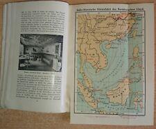 Rar! Norddeutscher Lloyd Bremen um 1903 mit 2 Faltkarten Seefahrt Schifffahrt