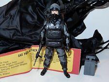 1983 GI JOE / ACTION FORCE SAS SPARROW HAWK NEAR COMPLETE w/ PARACHUTE PALITOY