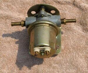 Carter Universal Rotary Vane Electric Fuel Pump 43 GPH 6 PSI P