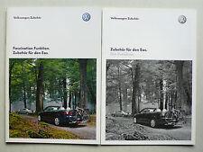 Prospekt Volkswagen Eos Zubehör, 5.2009, 28 Seiten + Preisliste
