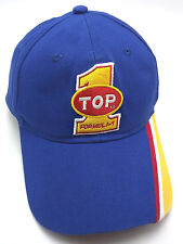 FORMULA 1 CAR RACING blue / yellow / red / white adjustable cap / hat