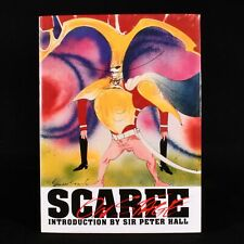 1992 Scarfe On Stage Gerald Scarfe First Edition Illustrated