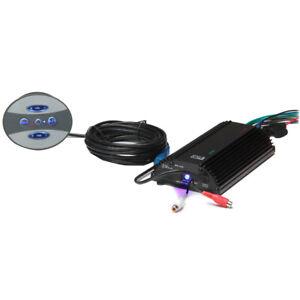 POLY-PLANAR ME60BT 4 CHANNEL 120 WATT, AUDIO AMP WITH BLUE