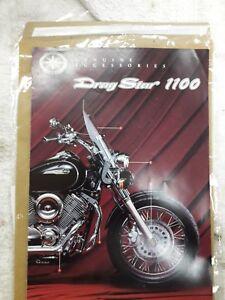 Yamaha Drag Star 1100 Genuine Accessories Brochure