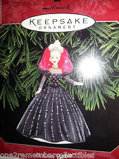 HALLMARK Keepsake 1998 HOLIDAY BARBIE DOLL #6 in Series CHRISTMAS ORNAMENT New