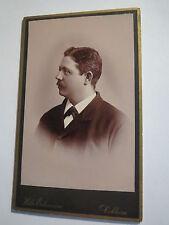 Koblenz Coblenz - 1895 - Friedrich Sprung als Mann im Anzug - Portrait / CDV