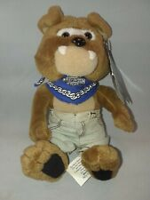 "Harley Davidson Motorcycles Bean Bag 1998 Spike Dog Stuffed Mascot Toy 6"" w Tag"