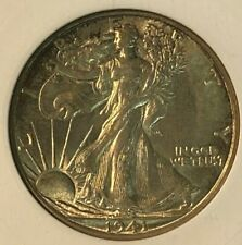 1941 S ANACS MS 64 Walking Liberty Silver US Half Dollar 50C