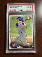 2016 Bowman Draft #BD92 Pete Alonso RC Rookie Mets PSA 10 GEM MINT
