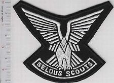 Rhodesia Army Rhodesian Defence Force RDF Selous Scouts ABN Wings vel Hooks
