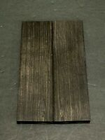 African Blackwood Bookmatched Knife Handle Scale Pistol Grip Wood (BULK)