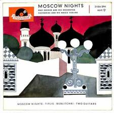 "Max Greger Und Sein Orchester - Moscow Nights - 7"" Record Single"