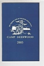Vintage Squam Lake NH Souvenir Camp Deerwood Program - Are you in here ? /t1