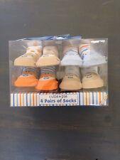 New Cutie Pie 4 Pairs Newborn Infant 0-12 Months Booties Socks