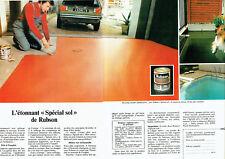 Publicité Advertising  078  1978   Rubson spécial sol ( 2pages)
