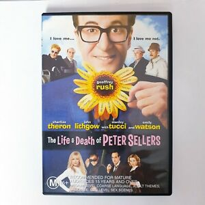 The Life & Death Of Peter Sellers Movie DVD Movie Region 4 Free Postage - Drama