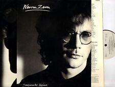 WARREN ZEVON sentimental hygiene (UK Original) LP VG/VG Folk Rock, Pop Rock