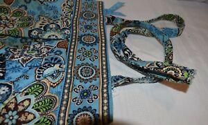 Vera Bradley Shoulder Bag in Retired Bali Blue Pattern 100% Cotton Made in China