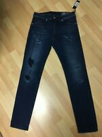 NWT Mens Diesel THOMMER Smooth Stretch Denim 084ND D/Blue S/Slim W30 L30 H6