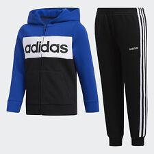 adidas Cotton Fleece Jacket and Jogger Set Kids'